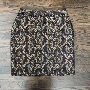 Worthington Brocade Pencil Skirt